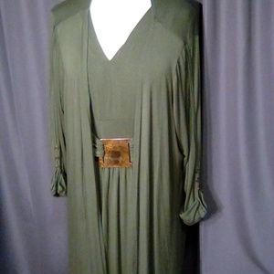 Completely Me by Liz Lange Plus Size Dress & Jacke